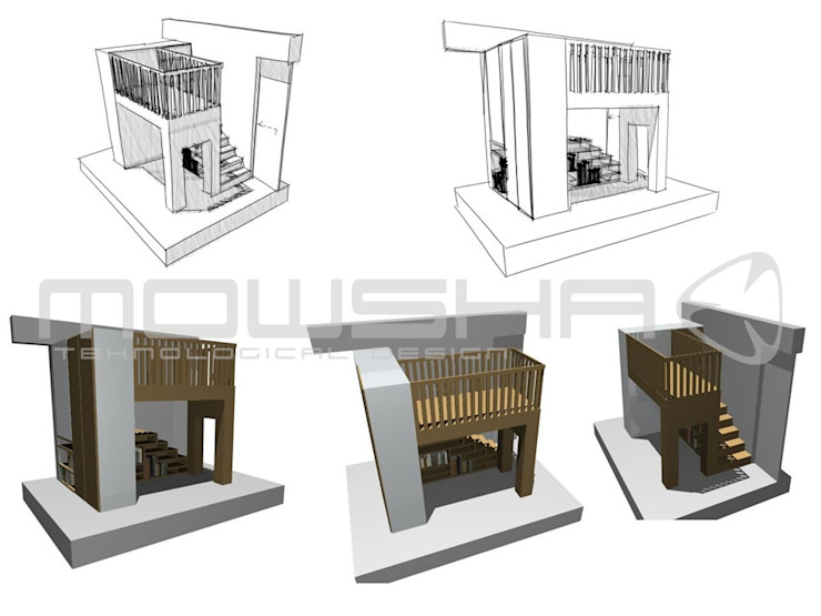 A ideia que ganhou forma e volume Mowsha tek Design Lda Berçários