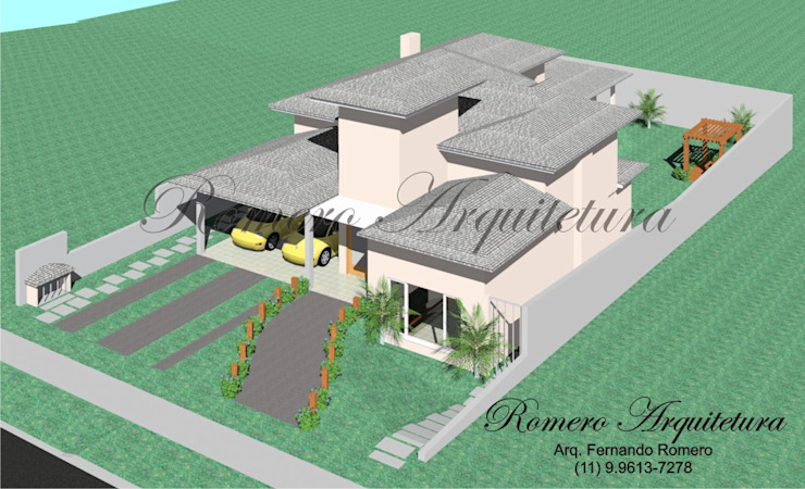 Rumah Modern Oleh Romero Arquitetura Modern