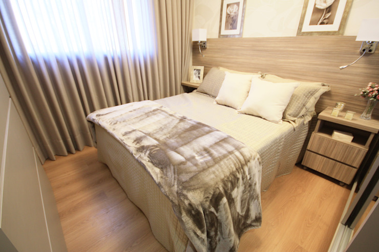 Suíte Modern Bedroom by MRAM Studio Modern