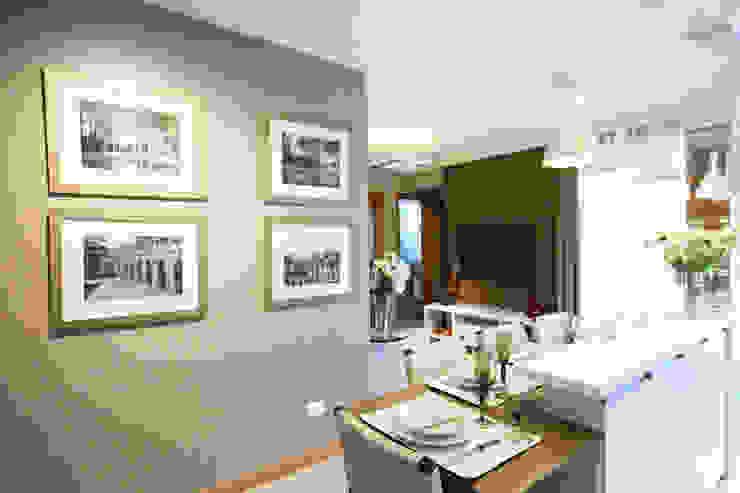 Piazza Apartment Modern Dining Room by MRAM Studio Modern