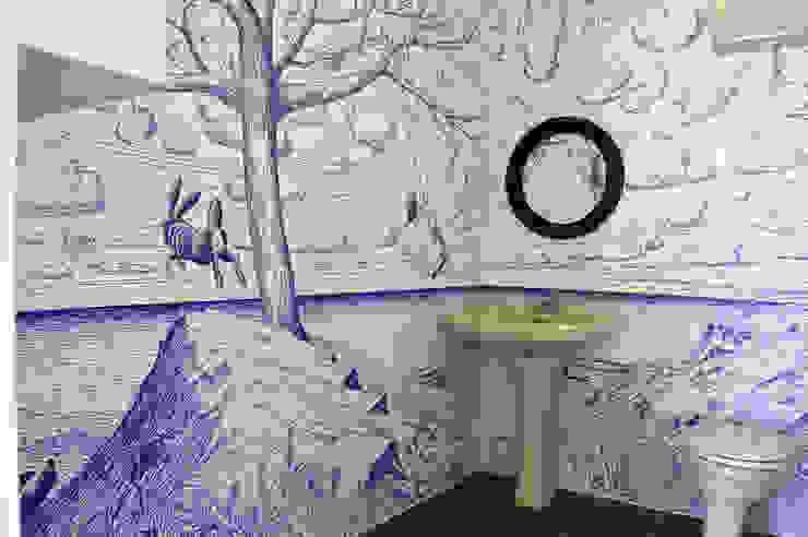 Jorge Fin. Murals Bagno in stile classico