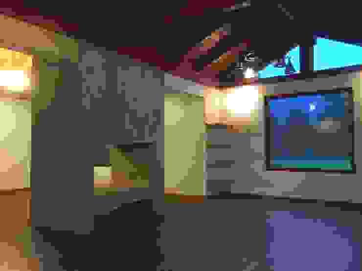 Remodelación Casa Mallarauco ARCOP Arquitectura & Construcción Livings de estilo