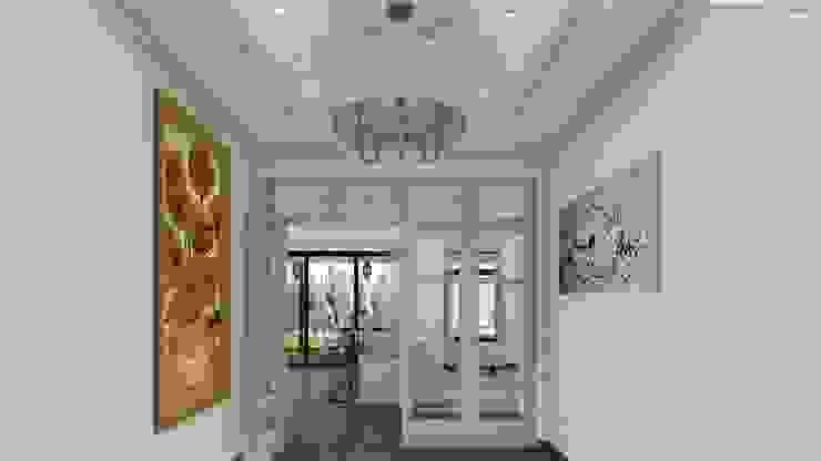 Vivienda Estancia de Campo Colonial style corridor, hallway& stairs by ARBOL Arquitectos Colonial