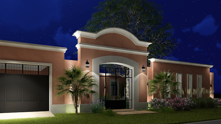 Vivienda Estancia de Campo Colonial style house by ARBOL Arquitectos Colonial