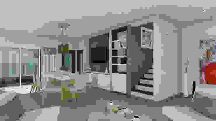 Vivienda Francesa Contemporanea Classic style dining room by ARBOL Arquitectos Classic