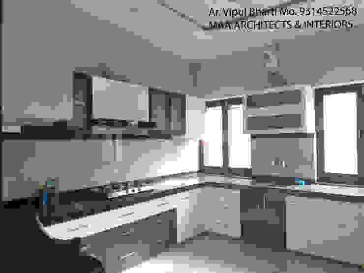 Sunil ji Kalyani Modern kitchen by MAA ARCHITECTS & INTERIOR DESIGNERS Modern