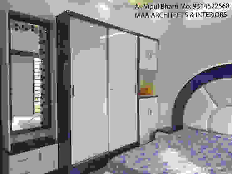 Sunil ji Kalyani Modern style bedroom by MAA ARCHITECTS & INTERIOR DESIGNERS Modern