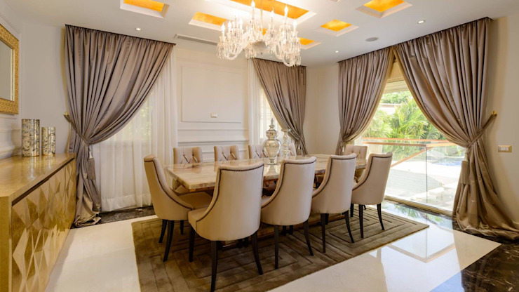 Classic style dining room by Hany Saad Innovations Classic