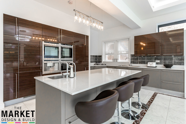 Teddington Extension And Refurbishment The Market Design & Build Modern kitchen