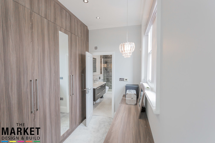 Teddington Extension And Refurbishment The Market Design & Build Modern style bedroom