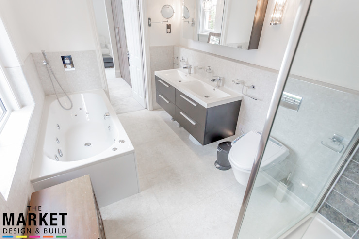 Teddington Extension And Refurbishment The Market Design & Build Modern bathroom