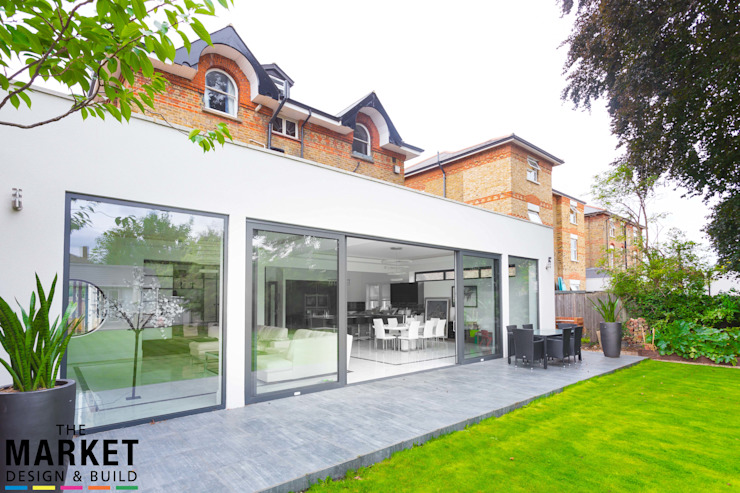 Teddington Extension And Refurbishment The Market Design & Build Modern houses