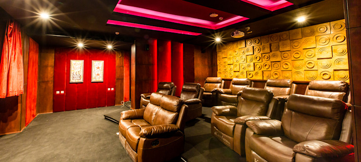 Home Theatre by Lotfi & Mourre Consulting