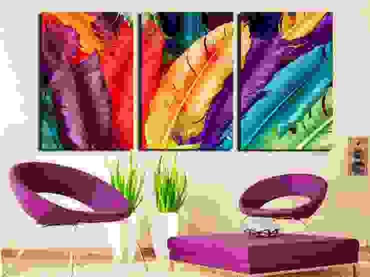Interiors Modern living room by Dun Interior Modern