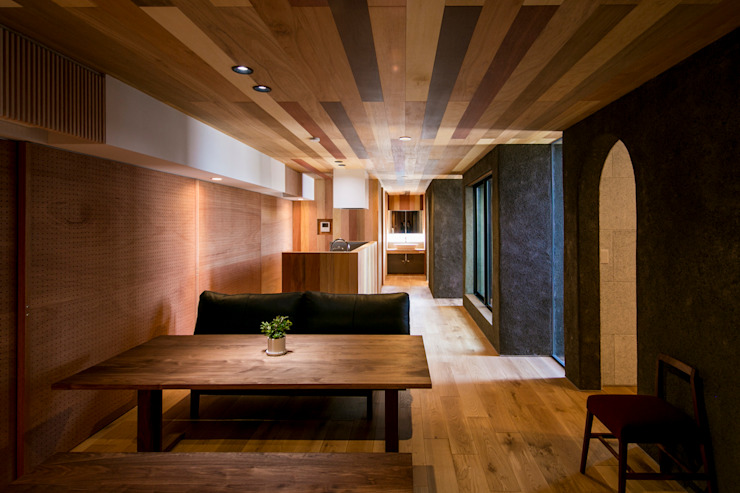 group-scoop Living room Solid Wood Wood effect