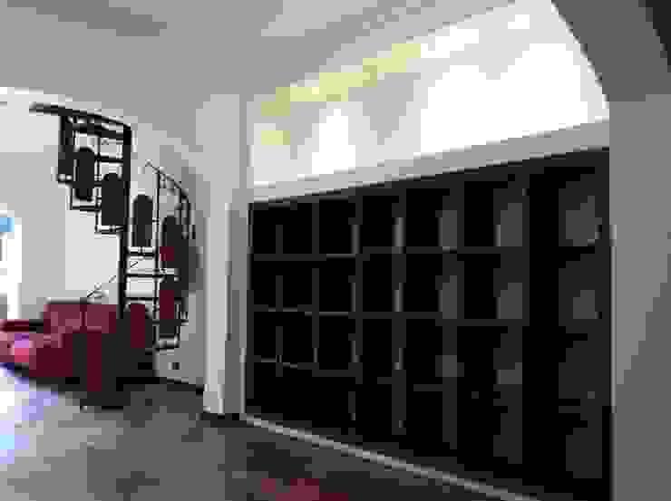Remodelación Casa Arratia Paredes y pisos de estilo colonial de ARCOP Arquitectura & Construcción Colonial