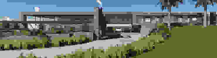 Residencia GC Modern Houses by MRAM Studio Modern