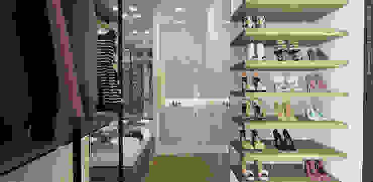 APARTAMENTO VALENBO | Residencial Vestidores de estilo moderno de C | C INTERIOR ARCHITECTURE Moderno