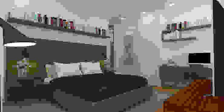 Modern Bedroom by C | C INTERIOR ARCHITECTURE Modern