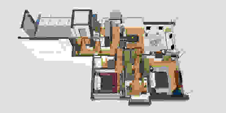 modern  by C | C INTERIOR ARCHITECTURE , Modern