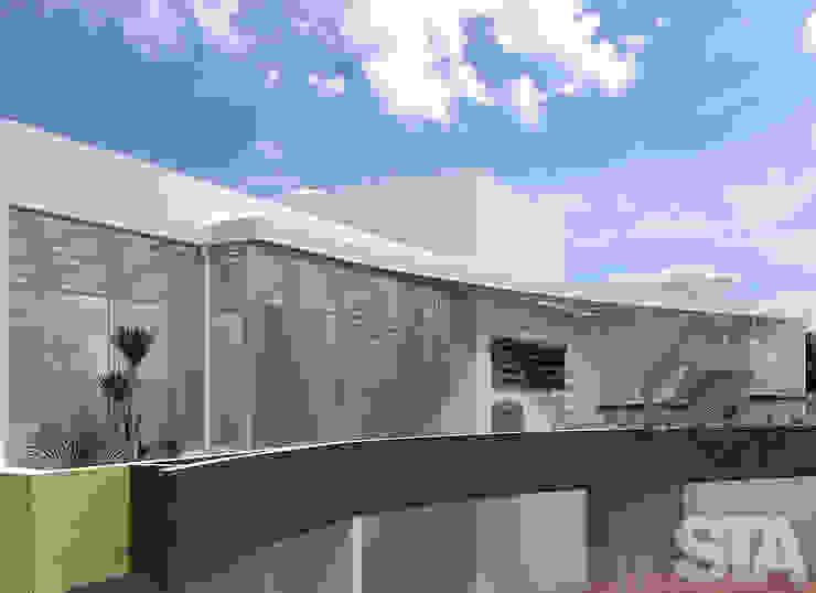 Minimalistische Häuser von Soluciones Técnicas y de Arquitectura Minimalistisch