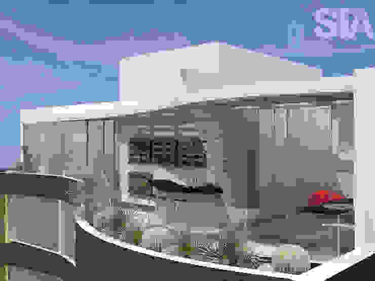 Minimalistischer Balkon, Veranda & Terrasse von Soluciones Técnicas y de Arquitectura Minimalistisch