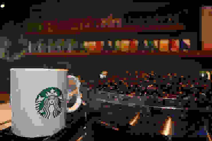 Starbucks Torre Manacar Gastronomía de estilo moderno de Grupo Visnav Moderno