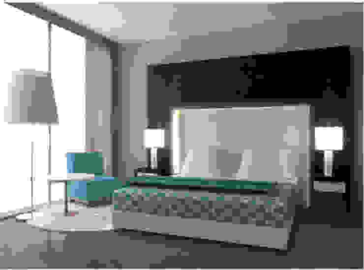 Habitación Minimalista Habitaciones de estilo minimalista de Arq. Nury Tafur Garzon Minimalista Madera Acabado en madera
