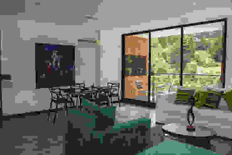 Vivienda Salas de estilo minimalista de Arq. Nury Tafur Garzon Minimalista