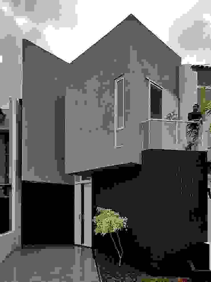 Exterior Heavy Rotation House Oleh Parametr Architecture Modern Batu