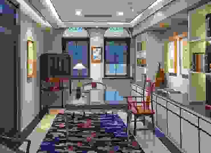 觀想書房 大真室內裝修設計有限公司 Study/office Solid Wood
