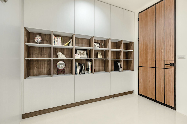 木豐家居設計中心 ห้องทำงาน/อ่านหนังสือ