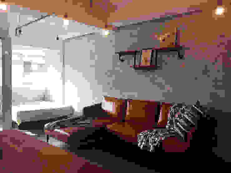 輕工業小宅 根據 DIANTHUS 康乃馨室內設計 工業風