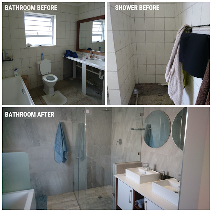 New Master bathroom by BEFORE & AFTER DECOR