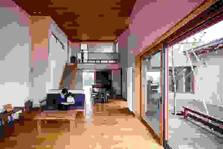 リビング・ダイニング 藤松建築設計室 モダンデザインの ダイニング