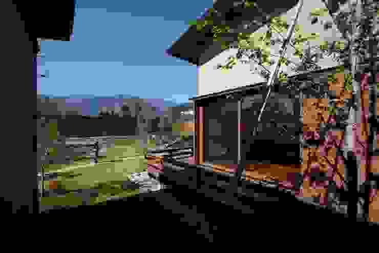 中庭 藤松建築設計室 モダンな庭