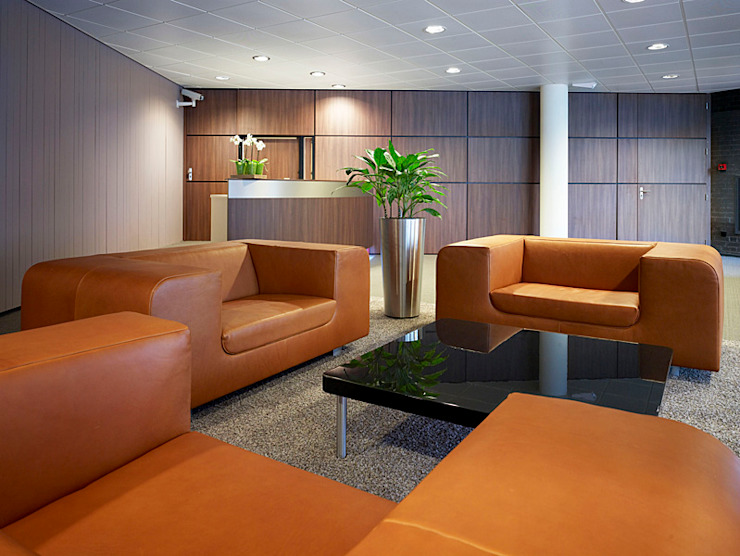 Zitruimte Bank Moderne kantoorgebouwen van Jan Detz Interieurarchitect Modern
