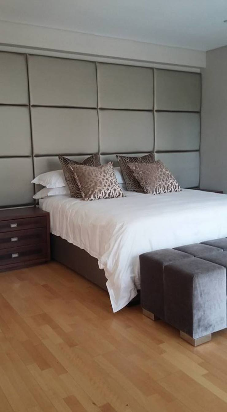 Morningside Residence Eclectic style bedroom by CKW Lifestyle Associates PTY Ltd Eclectic