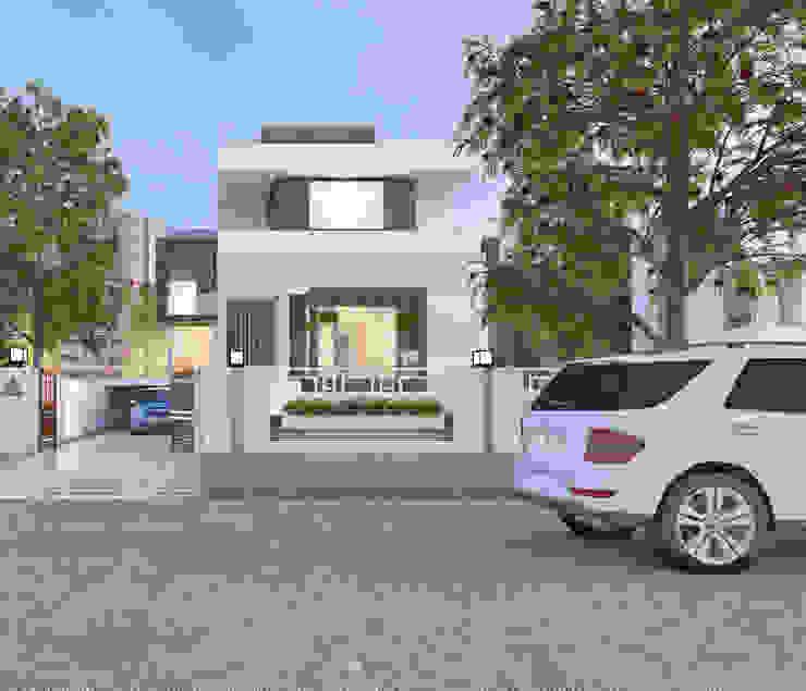 Front Elevation by Abhishek Patel Environ Design Pvt Ltd