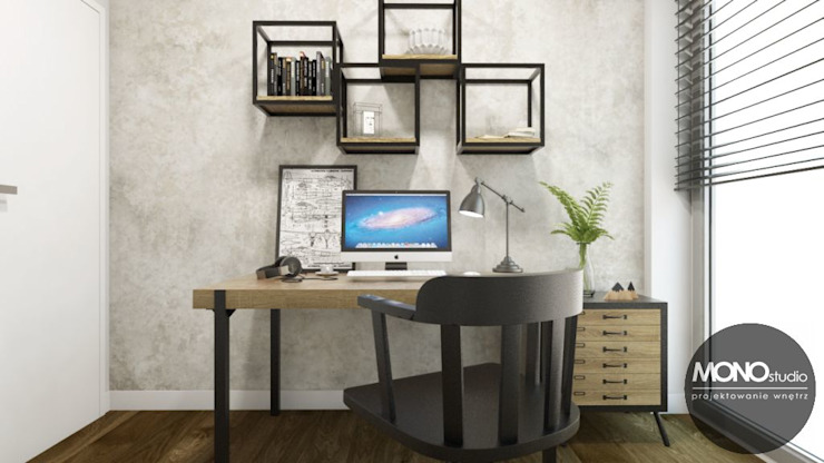 MONOstudio Scandinavian style study/office