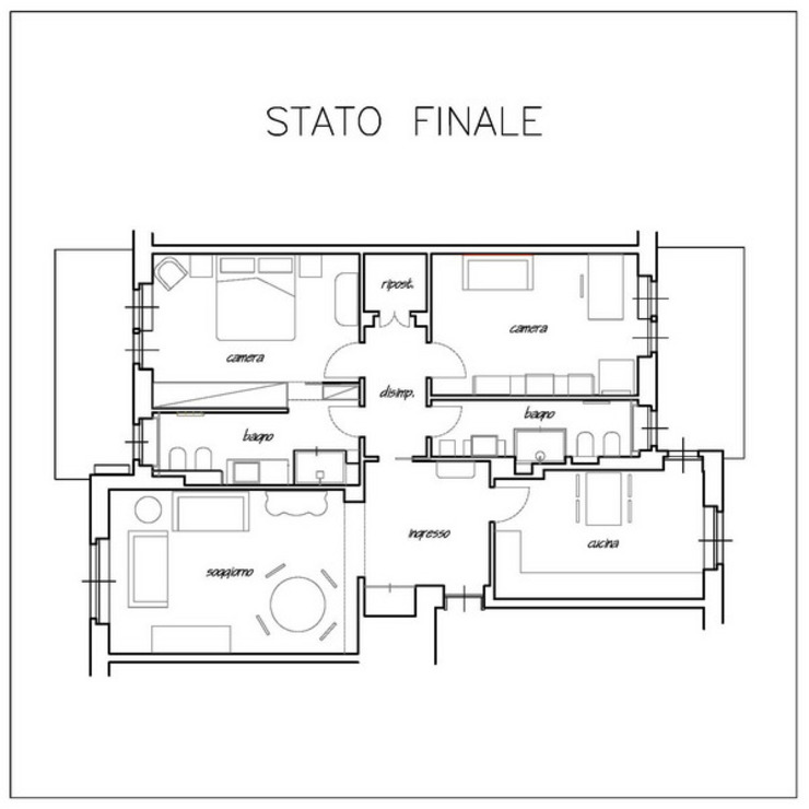 modern  by ArchitetturaTerapia®, Modern