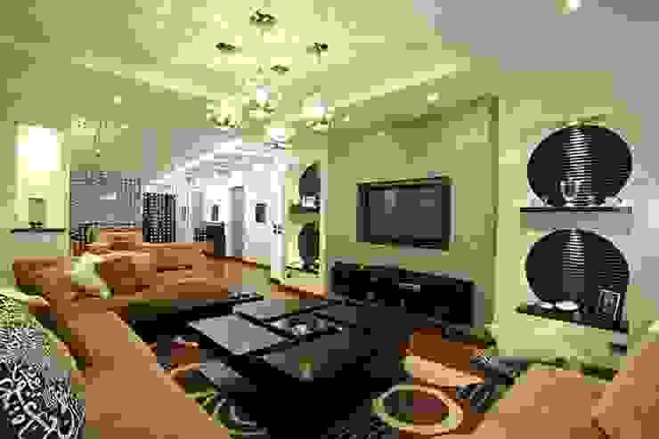 Salas multimedia modernas de Hazem Hassan Designs Moderno