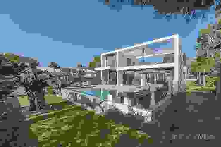 現代房屋設計點子、靈感 & 圖片 根據 Diego Cuttone, arquitectos en Mallorca 現代風