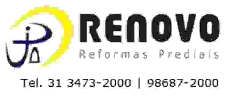 Renovo Reformas Retrofit Fachada 3473-2000 em Belo Horizonte Office buildings Marble