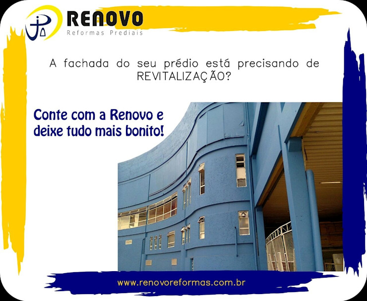 Renovo Reformas Retrofit Fachada 3473-2000 em Belo Horizonte Car Dealerships Reinforced concrete