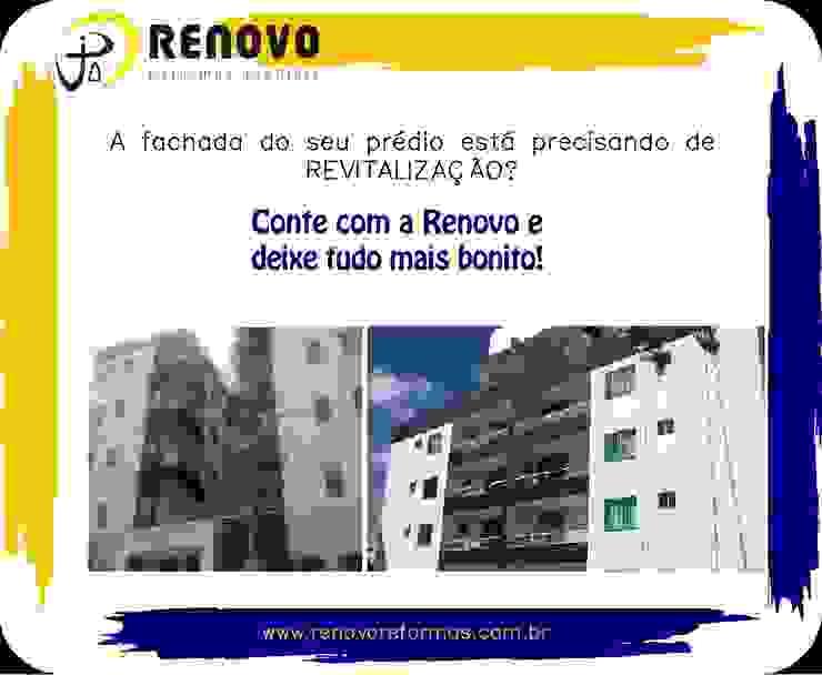 Renovo Reformas Retrofit Fachada 3473-2000 em Belo Horizonte Exhibition centres Rubber