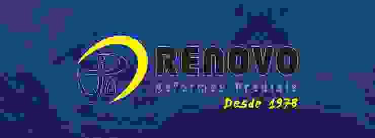by Renovo Reformas Retrofit Fachada 3473-2000 em Belo Horizonte Класичний Алюміній / цинк