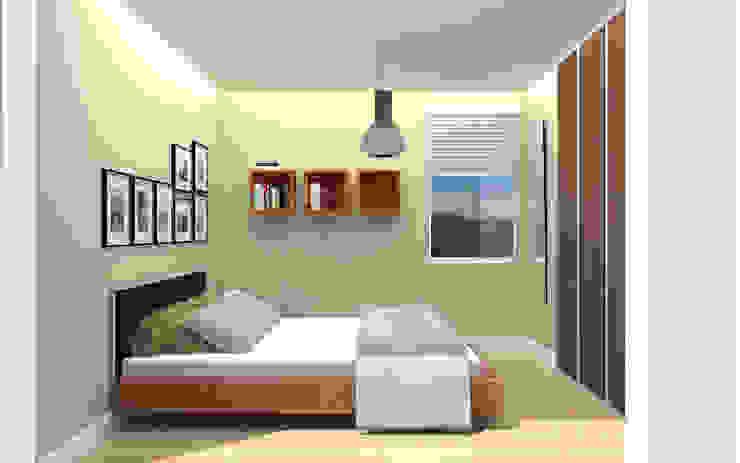 Camera da letto in stile  di TRIBU ESTUDIO CREATIVO