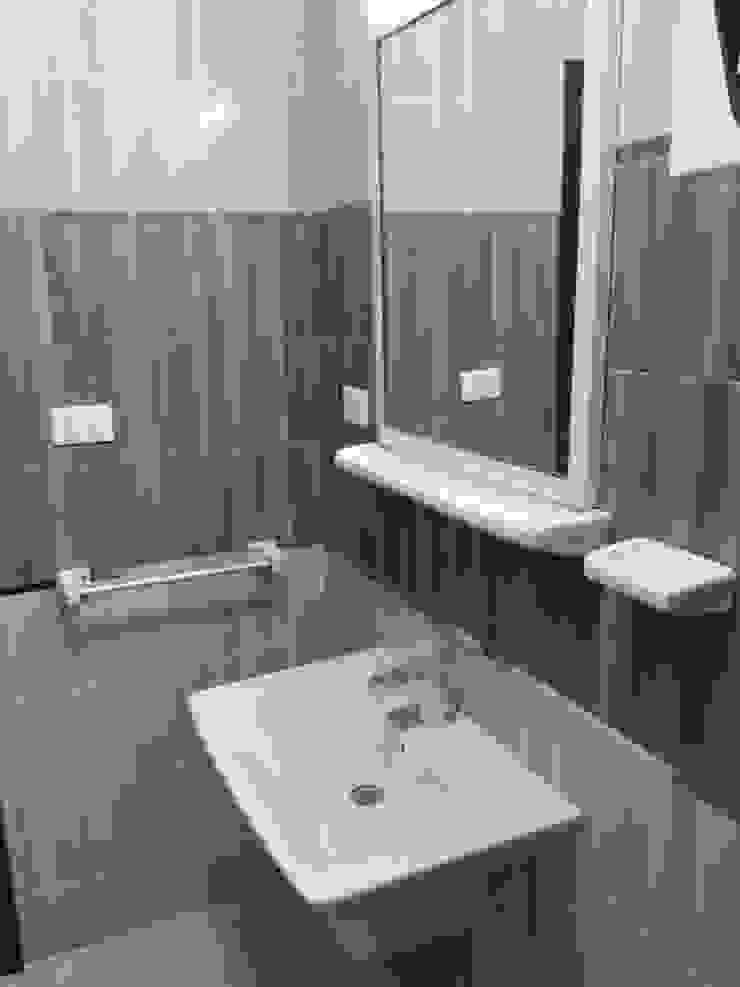 حمام كبير من TRK Architecture حداثي سيراميك