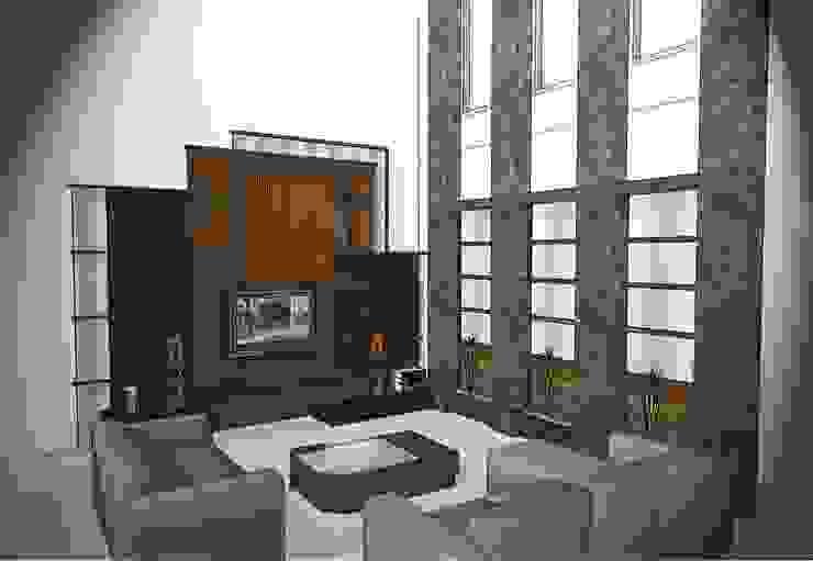 interior Home Jl. Taman Borobudur Malang 2012 Oleh the OWL Minimalis